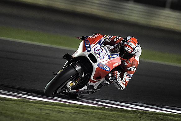 Andrea Dovizioso, Ducati, Qatar MotoGP test, March 2015