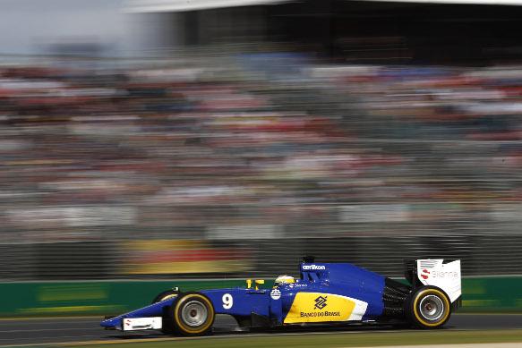 Sauber at the Australian Grand Prix 2015