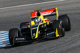 Philo Paz Patric Armand, Pons, Jerez FR3.5 testing 2015