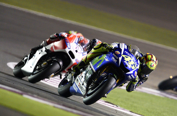 Rossi, Yamaha, Qatar