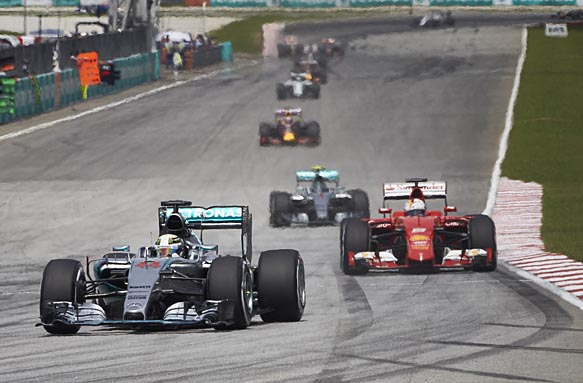 Ferrari: Passing Mercedes was unlikely
