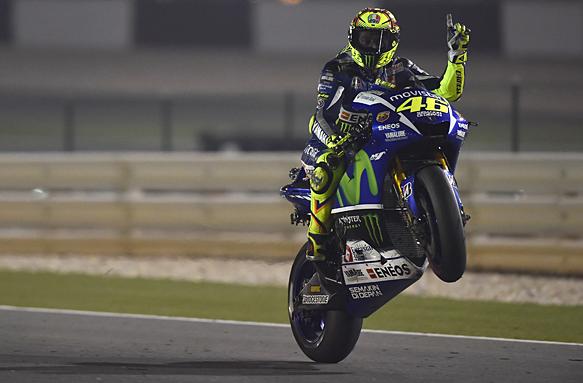 Valentino Rossi, MotoGP Qatar 2015