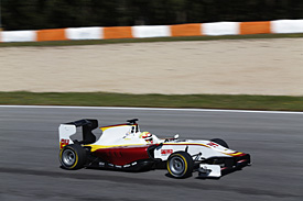 Alex Palou, Campos, Valencia GP3 test April 2015