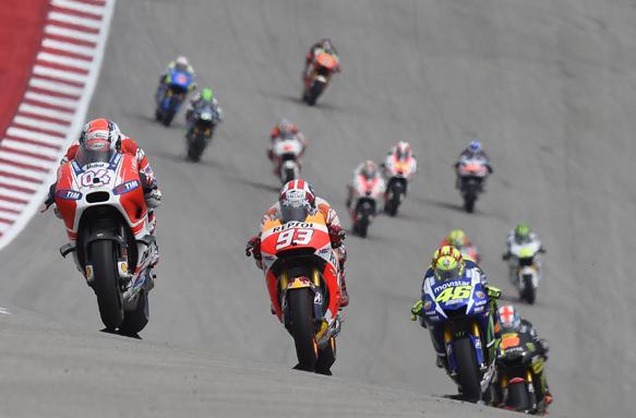 Dovizioso, Ducati, Marquez, Honda, MotoGP, Austin
