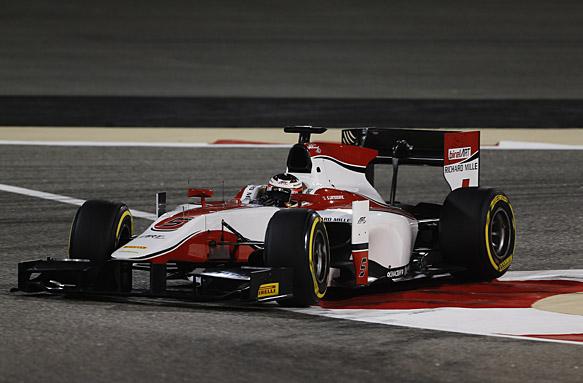 Vandoorne takes Bahrain GP2 pole