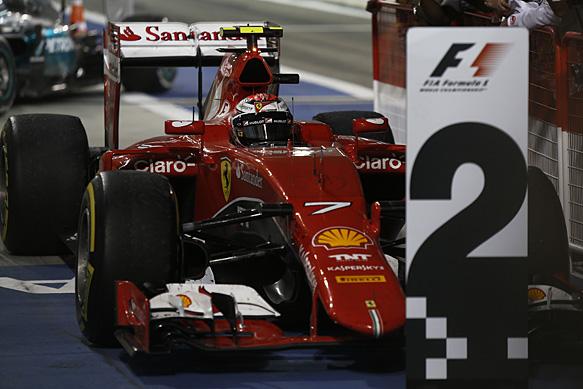 Кими Райкконен: Скоро мы догоним Mercedes