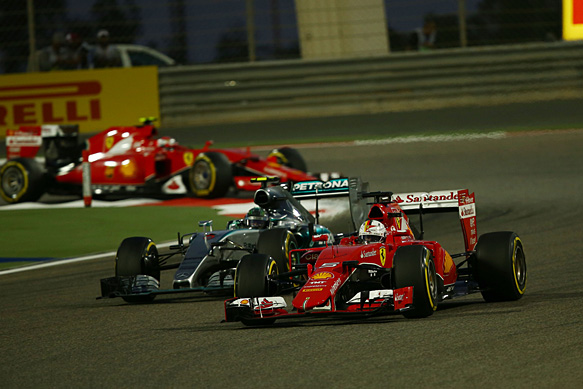Ferrari needs time to catch up - Vettel