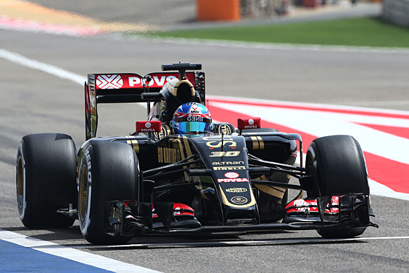 Lotus to run 2015 F1 car at Brands