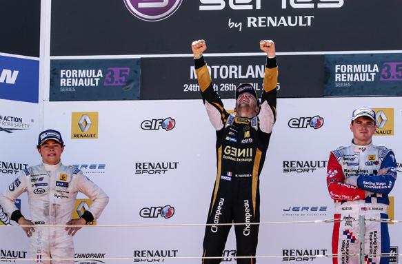 FR3.5, Aragon, podium