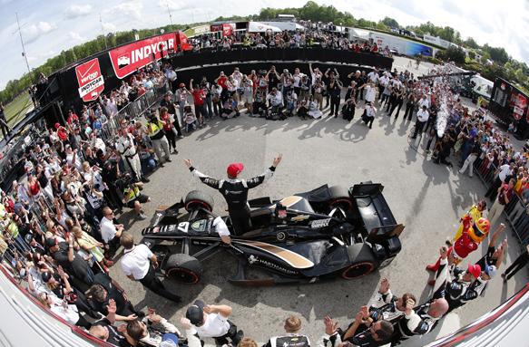 Newgarden, IndyCar, Barber
