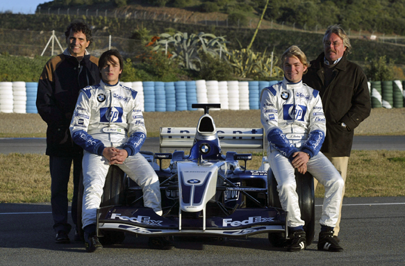 Piquet, Rosberg, Williams, 2003