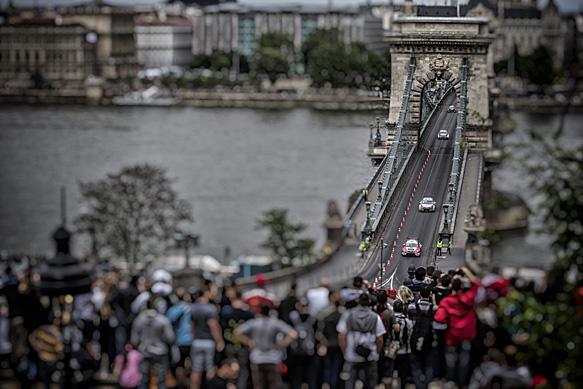 Hungary WTCC parade
