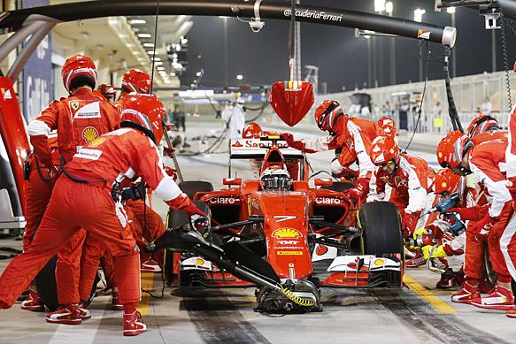 Kimi Raikkonen, Ferrari, Bahrain GP 2015