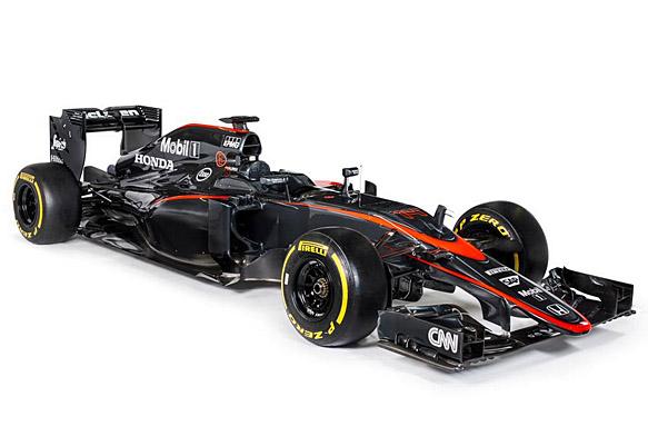 McLaren reveals new MP4-30 livery