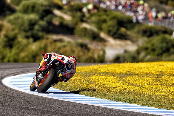 Marc Marquez, Honda, Jerez MotoGP 2015
