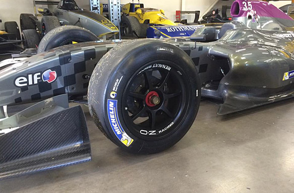 Michelin 18-inch tyre Formula Renault 3.5 test