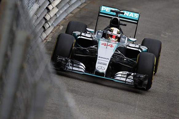 Lewis Hamilton, Mercedes, Monaco GP 2015