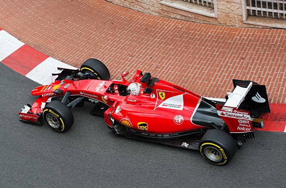 Sebastian Vettel, Monaco GP 2015