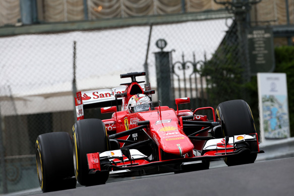 Vettel tops final practice in Monaco