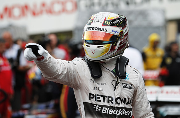 Lewis Hamilton, Monaco GP 2015