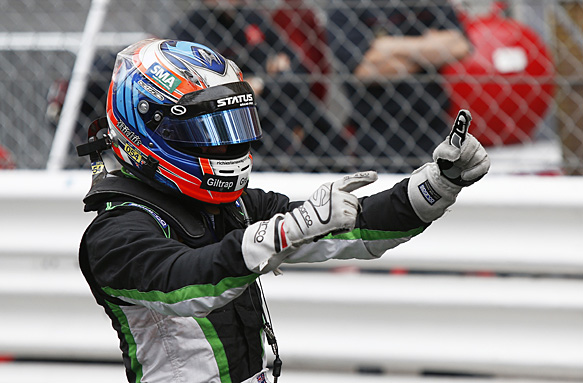 Stanaway takes first win for Status