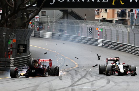 No brake test by Grosjean - Lotus