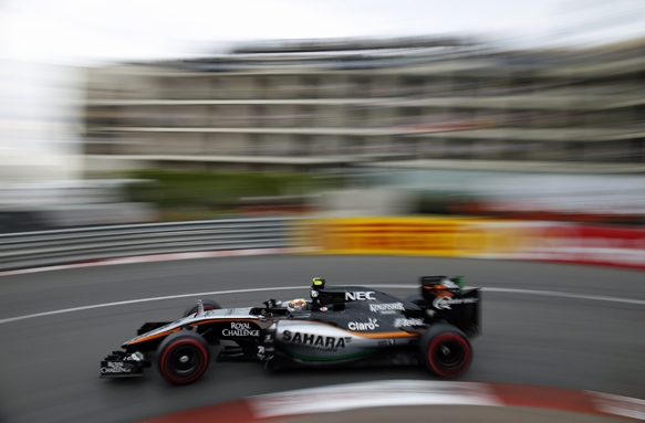 Perez 'flawless' in Monaco - Mallya