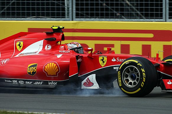 Kimi Raikkonen, Ferrari, Canadian GP 2015