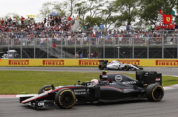 Jenson Button, Canadian GP 2015