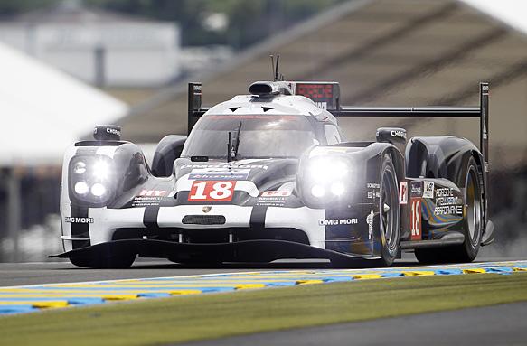 Neel Jani, #19 Porsche, Le Mans 2015