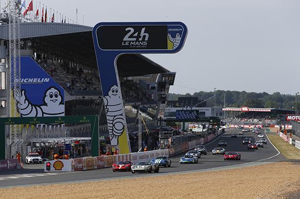 Le Mans legends start