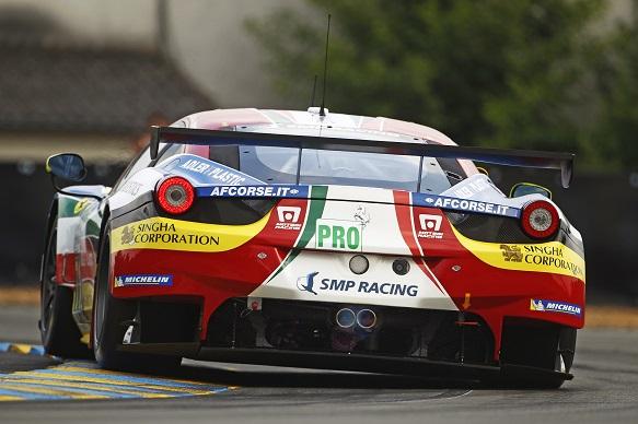 Calado Le Mans 2015