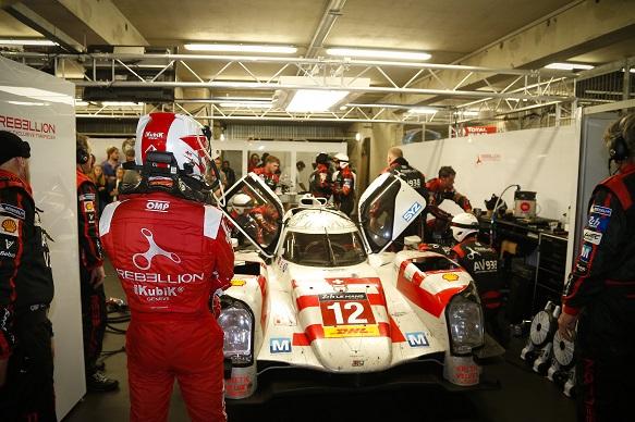 Heidfeld Le Mans 2015