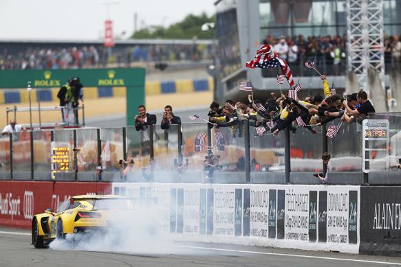 Corvette wins Le Mans GTE 2015