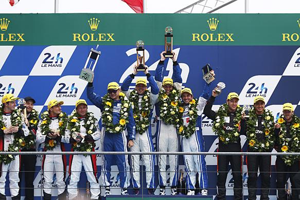 KCMG wins Le Mans 2015