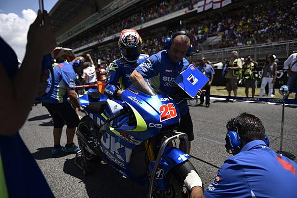 Maverick Vinales, Suzuki, Barcelona MotoGP 2015