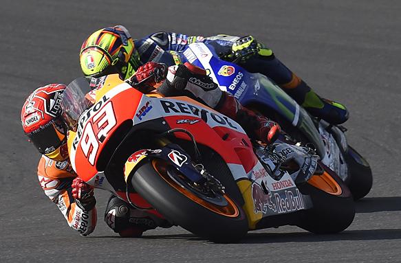 Marc Marquez, Valentino Rossi, MotoGP 2015