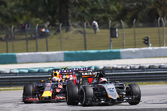 Force India now aiming for Red Bull