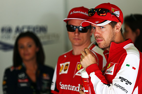Vettel hopes Ferrari keeps Raikkonen