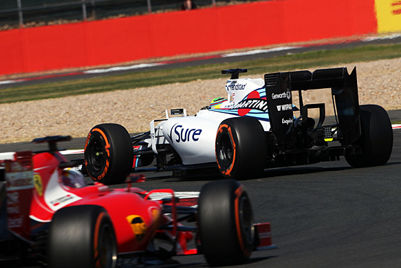 Felipe Massa, Williams, British GP 2015, Silverstone