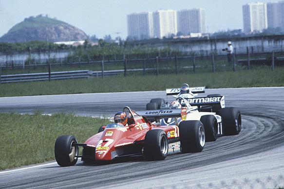 Gilles Villeneuve, Ferrari, Brazilian GP 1982, Rio