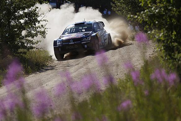 Sebastien Ogier, VW, WRC Poland 2015