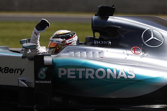 Hamilton takes hard-fought home win