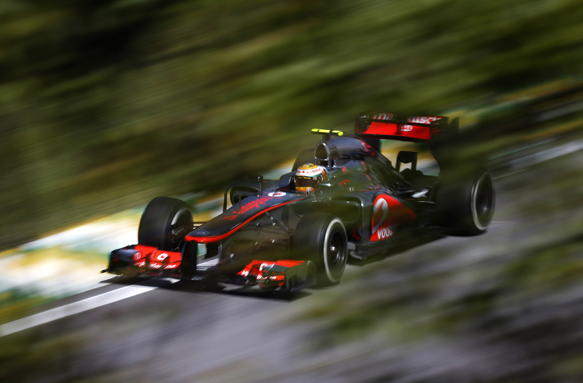 Hamilton: McLaren's woes hard to watch