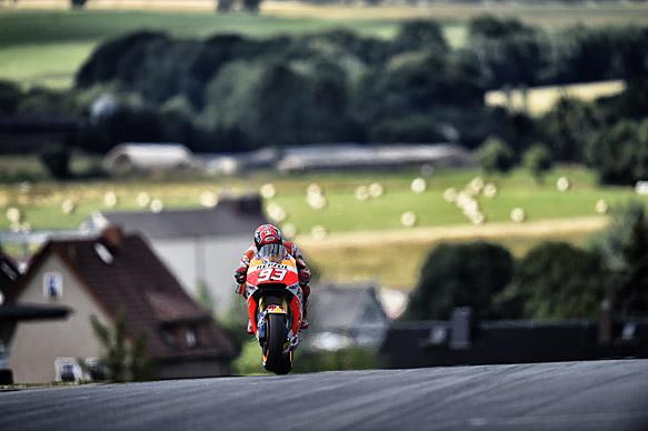 Marc Marquez, Honda, Sachsenring MotoGP 2015