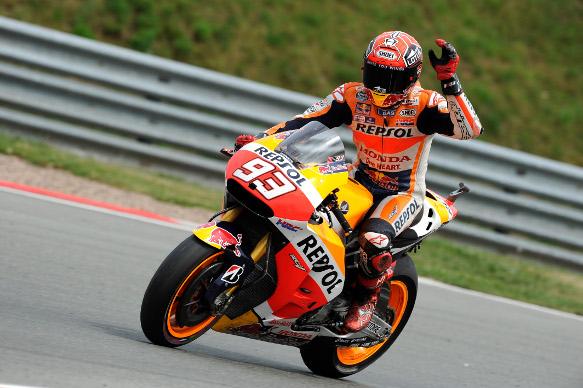 Marc Marquez, Honda, Sachsenring MotoGP