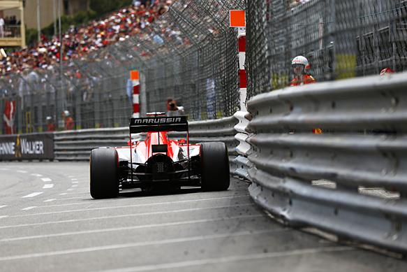 Jules Bianchi, Marussia, Monaco GP 2014