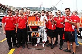 Jules Bianchi and Marussia, Monaco GP 2014
