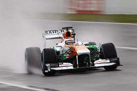 Jules Bianchi, Force India, Barcelona F1 testing February 2013