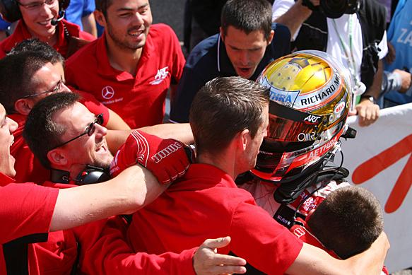Jules Bianchi wins Zandvoort F3 Euro, 2009